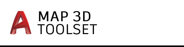 AutoCAD Map 3D toolset