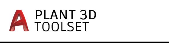 AutoCAD Plant 3D toolset