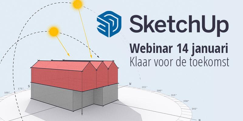 Webinar SketchUp 2021 – Klaar voor de toekomst