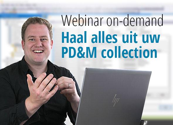 webinar on demand PD&M collectie